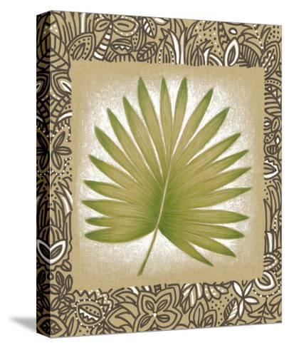 Exotic Palm Leaf II-Vision Studio-Stretched Canvas Print