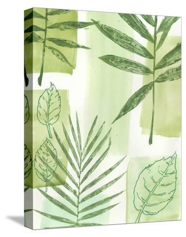 Leaf Impressions IV-Vision Studio-Stretched Canvas Print