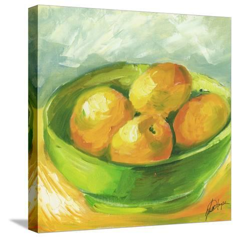 Small Bowl of Fruit I-Ethan Harper-Stretched Canvas Print