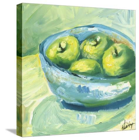 Small Bowl of Fruit II-Ethan Harper-Stretched Canvas Print