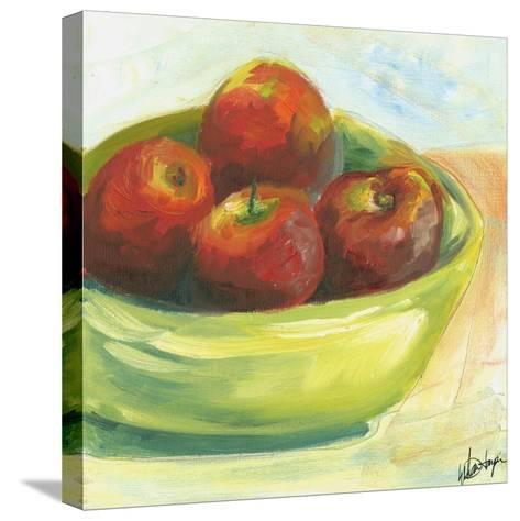 Small Bowl of Fruit III-Ethan Harper-Stretched Canvas Print