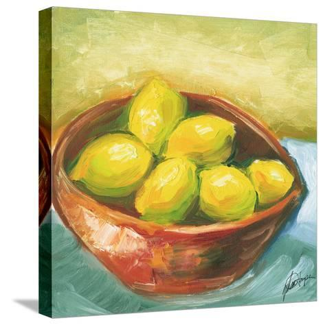 Small Bowl of Fruit IV-Ethan Harper-Stretched Canvas Print