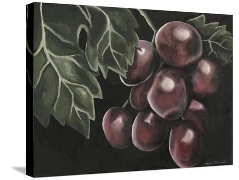 Midnight Grapes-Megan Meagher-Stretched Canvas Print
