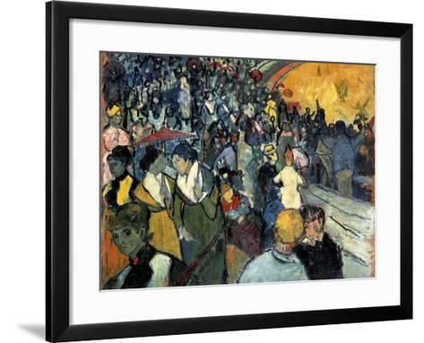 The Arena at Arles-Vincent van Gogh-Framed Art Print