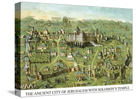 Symbols -Solomon's Temple-Charles O'Donnell-Stretched Canvas Print