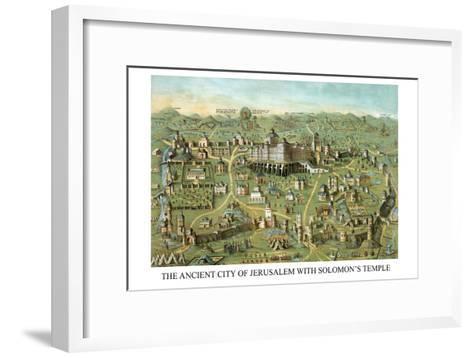 Symbols -Solomon's Temple-Charles O'Donnell-Framed Art Print