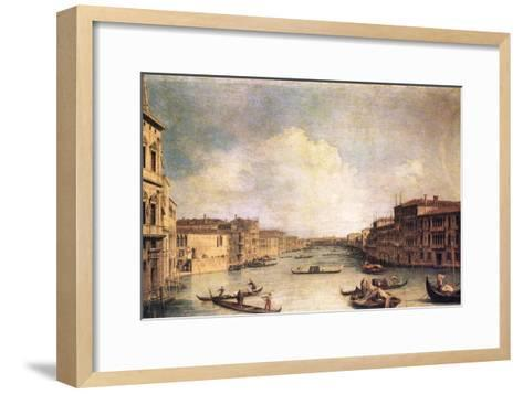 Grand Canal-Canaletto-Framed Art Print