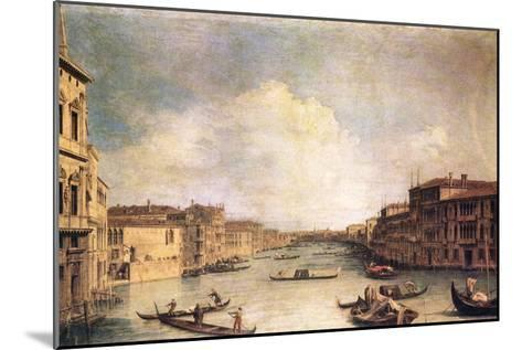 Grand Canal-Canaletto-Mounted Art Print