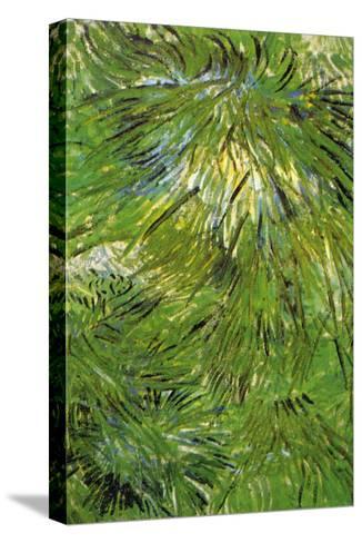 Grass-Vincent van Gogh-Stretched Canvas Print