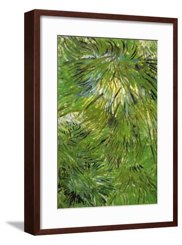 Grass-Vincent van Gogh-Framed Art Print