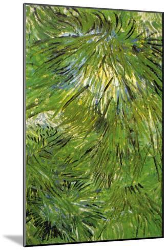 Grass-Vincent van Gogh-Mounted Art Print