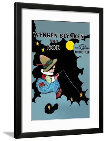Wynken Blynken and Nod-Eugene Field-Framed Art Print