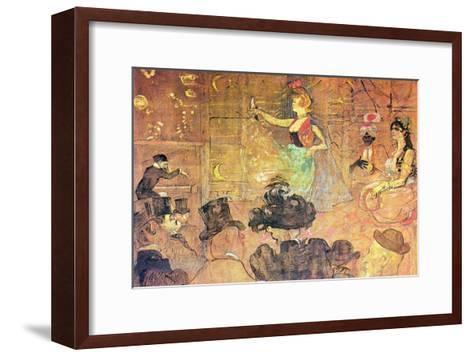 Mauri Dance-Henri de Toulouse-Lautrec-Framed Art Print