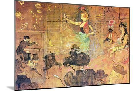 Mauri Dance-Henri de Toulouse-Lautrec-Mounted Art Print