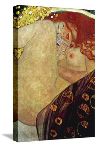 Danae-Gustav Klimt-Stretched Canvas Print