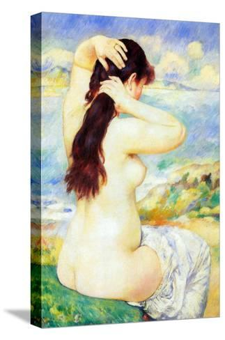 Abather-Pierre-Auguste Renoir-Stretched Canvas Print