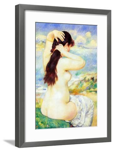 Abather-Pierre-Auguste Renoir-Framed Art Print