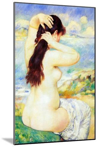 Abather-Pierre-Auguste Renoir-Mounted Art Print