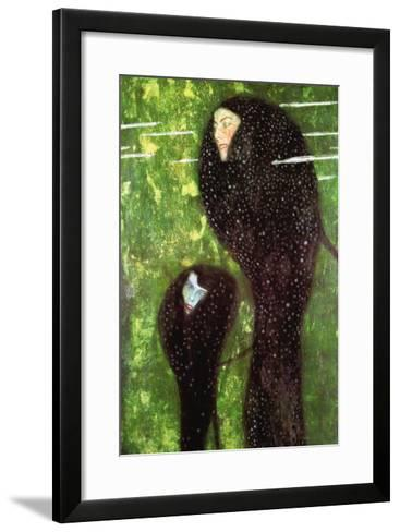 Mermaids-Gustav Klimt-Framed Art Print