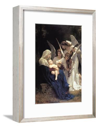 Song of The Angels-William Adolphe Bouguereau-Framed Art Print