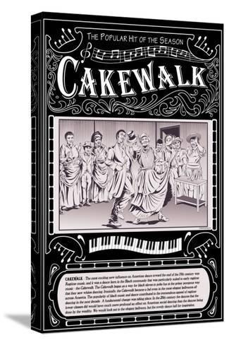 Cakewalk-Wilbur Pierce-Stretched Canvas Print