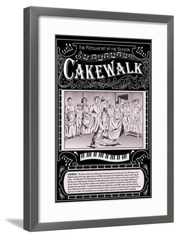 Cakewalk-Wilbur Pierce-Framed Art Print