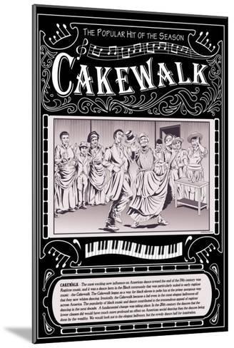 Cakewalk-Wilbur Pierce-Mounted Art Print