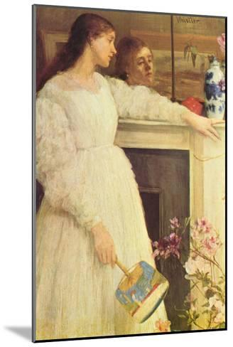 Symphony In White No. 2, Girls In White-James Abbott McNeill Whistler-Mounted Art Print