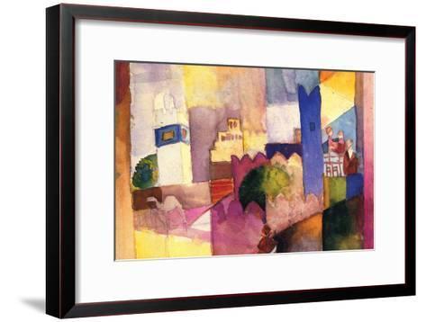 Kairouan-Auguste Macke-Framed Art Print