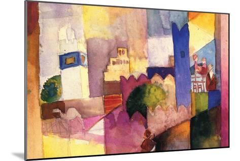 Kairouan-Auguste Macke-Mounted Art Print