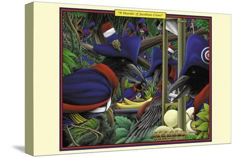 A Murder of Jacobean Crows-Richard Kelly-Stretched Canvas Print