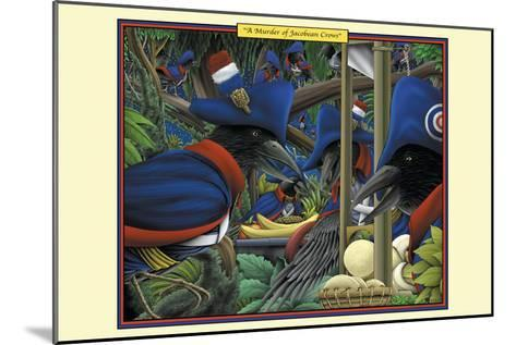 A Murder of Jacobean Crows-Richard Kelly-Mounted Art Print