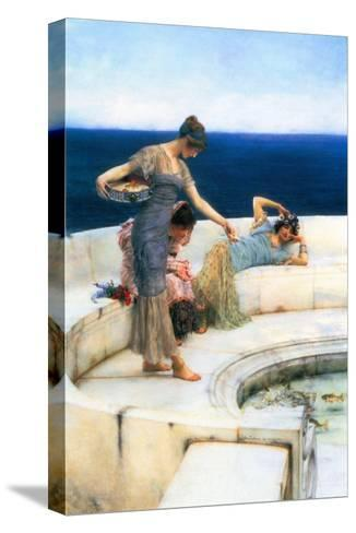 Silver Favorites-Sir Lawrence Alma-Tadema-Stretched Canvas Print