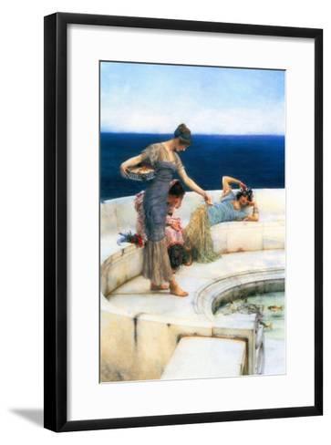 Silver Favorites-Sir Lawrence Alma-Tadema-Framed Art Print