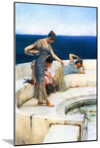 Silver Favorites-Sir Lawrence Alma-Tadema-Mounted Art Print