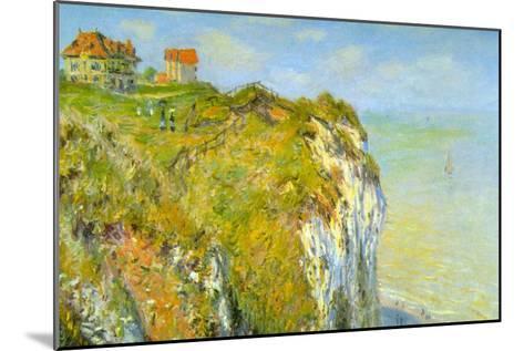 Cliffs-Claude Monet-Mounted Art Print