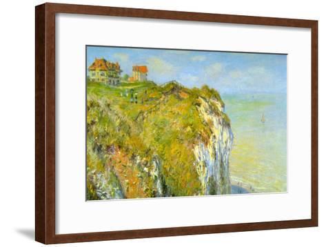 Cliffs-Claude Monet-Framed Art Print