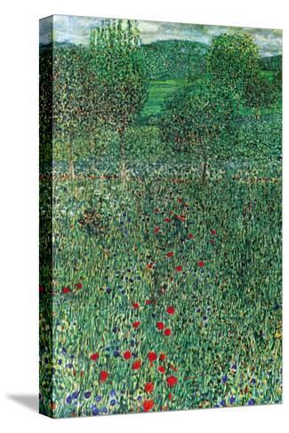 Garden Landscape-Gustav Klimt-Stretched Canvas Print