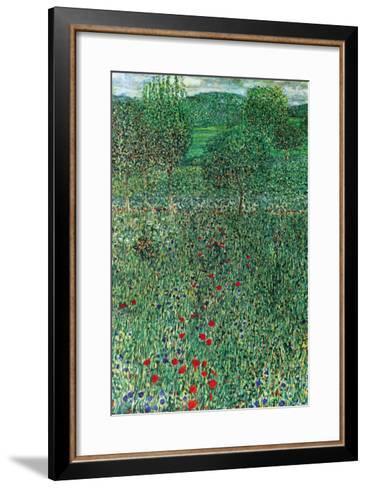 Garden Landscape-Gustav Klimt-Framed Art Print