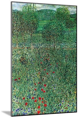 Garden Landscape-Gustav Klimt-Mounted Art Print