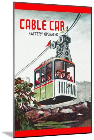 Cable Car--Mounted Art Print