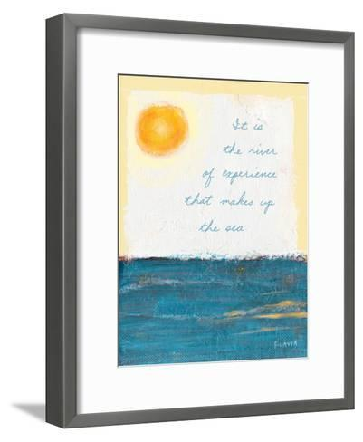 The River of Experience-Flavia Weedn-Framed Art Print