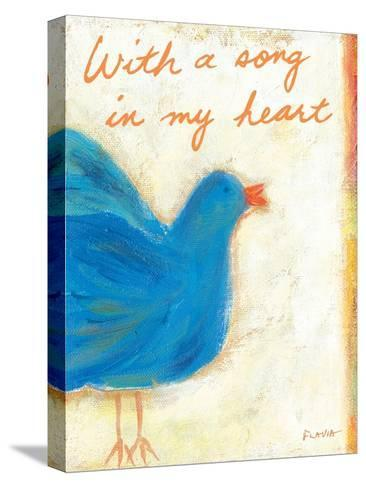 A Song in My Heart-Flavia Weedn-Stretched Canvas Print