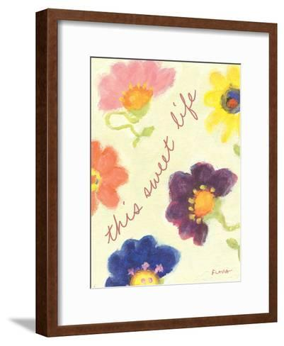 This Sweet Life-Flavia Weedn-Framed Art Print
