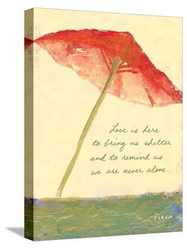 Love's Shelter-Flavia Weedn-Stretched Canvas Print