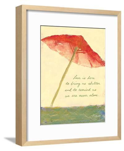 Love's Shelter-Flavia Weedn-Framed Art Print