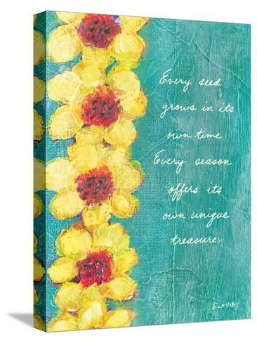 Every Seed Grows-Flavia Weedn-Stretched Canvas Print