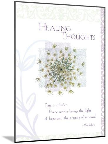 Healing Thoughts--Mounted Giclee Print