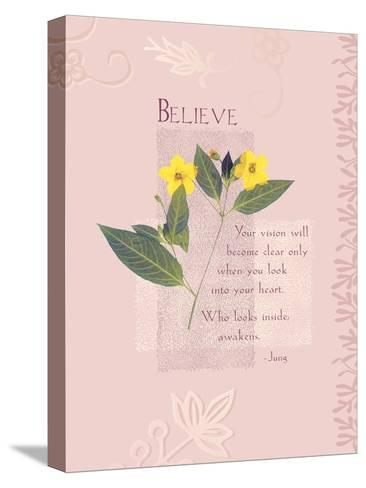 Believe--Stretched Canvas Print