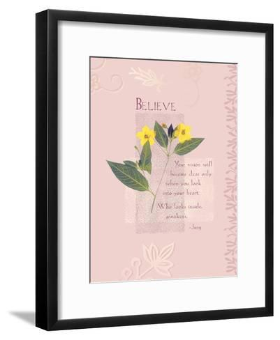 Believe--Framed Art Print